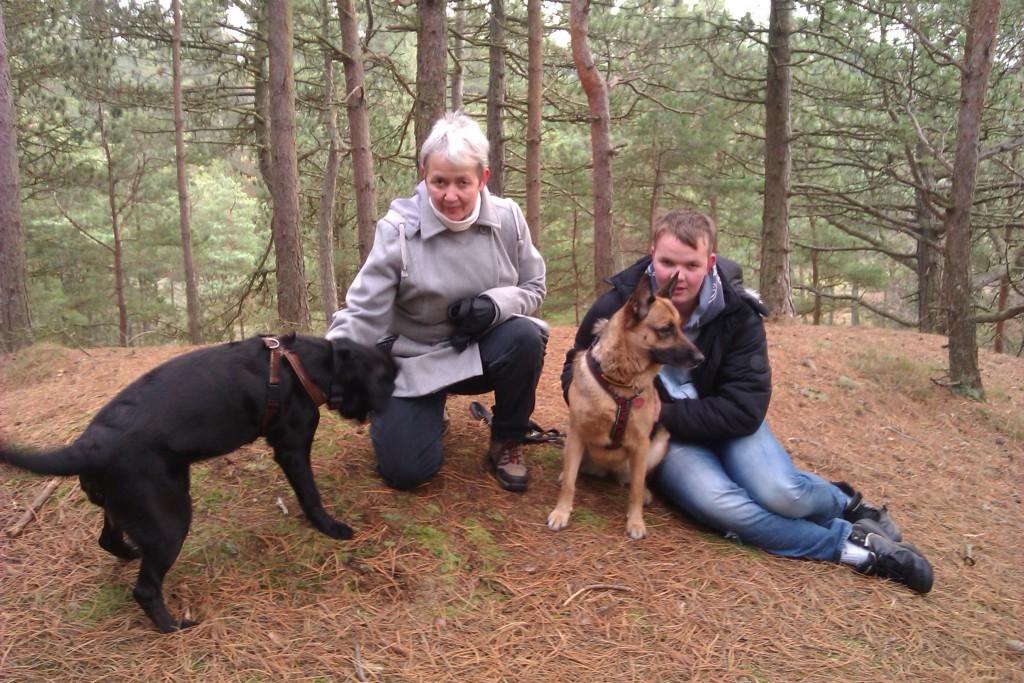 I hundeskoven