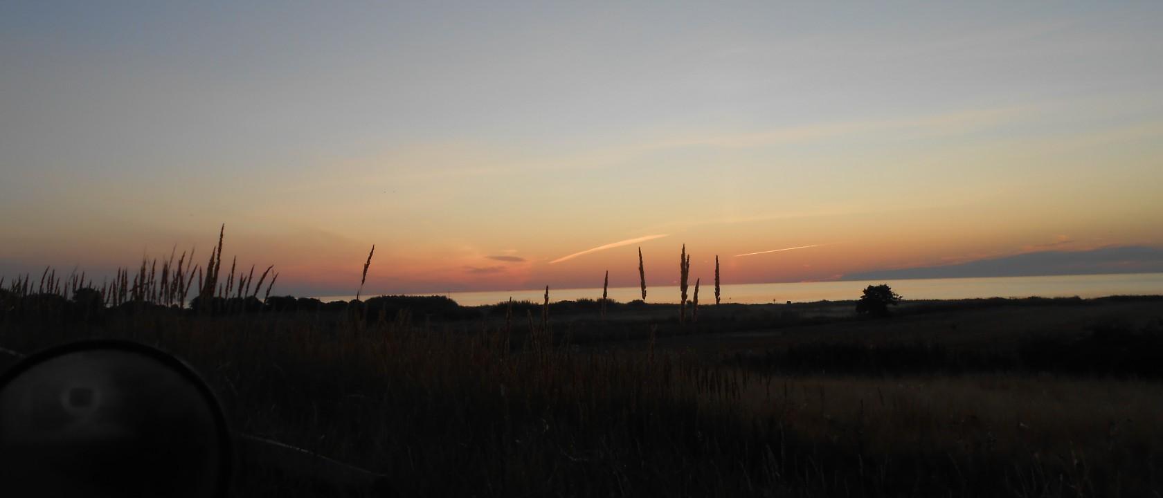 Solen op ved Kattegat