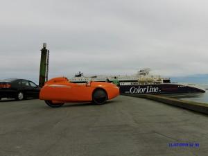 Strada og Color line på Hirtshals Havn. Aerodynamisk begge 2