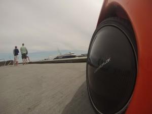 Strada wheelcover på Hirtshals havn