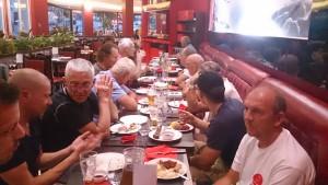 Afslutnings middag efter PBP 2015