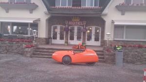 Arconaty Hotel nær Tienen,Belgien