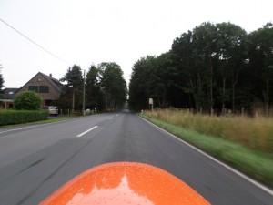 Fart på=velomobil vej