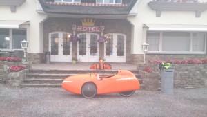 Klar til pakning ved Arconaty Hotel, Belgien