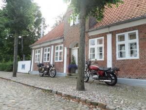 Møgeltønder Hovedgade Klasiske Mc`er