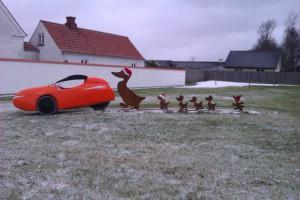 Merry X Mas meget lidt sne