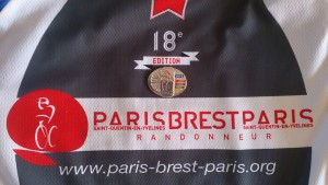 PBP og Super Randonneuers trøje og medalje