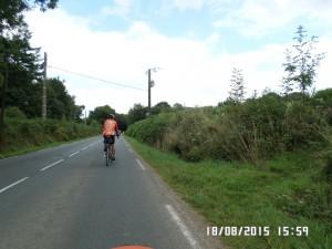 PBP 2015 Lang vej op fra Brest