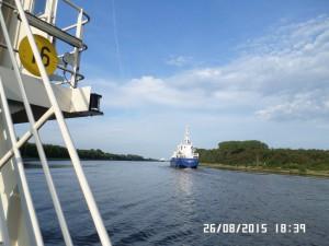 Skib på Nordsø Kanalen