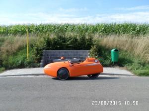 Strada-pauser-ved-busstop i Belgien