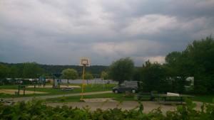 Tilbage på Campingplads i Eijsden
