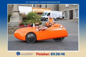 Strada On Route Paris-Brest-Paris 2015
