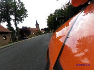 Strada i Tysk Landsby