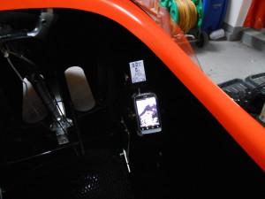 Mobil og GPS i Strada