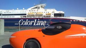 Strada og Color Line SuperSpeed